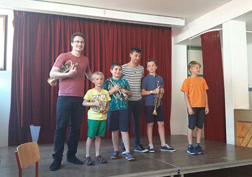 Trompetenunterricht für Kinder