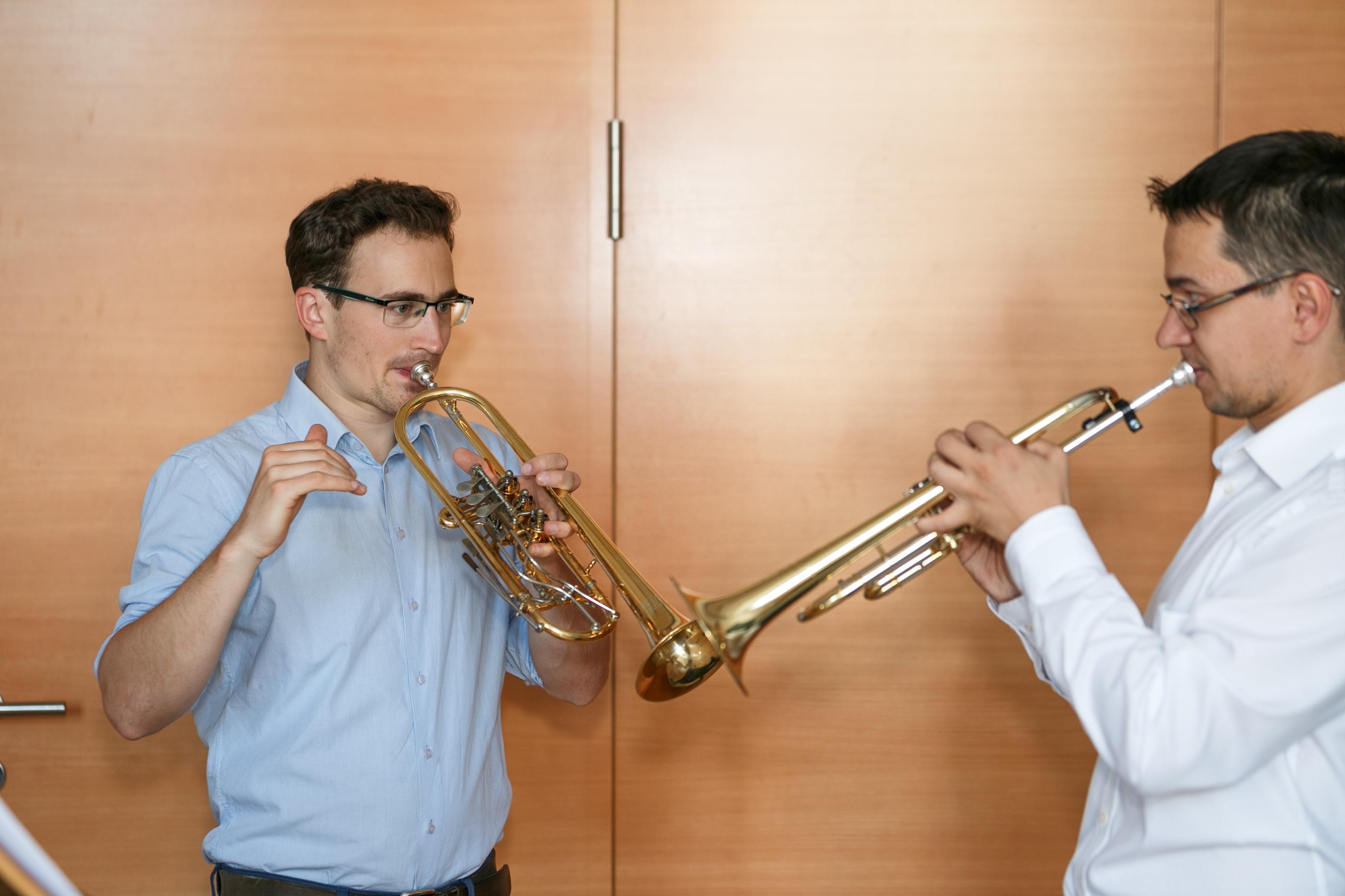 Trompetenunterricht für Erwachsene